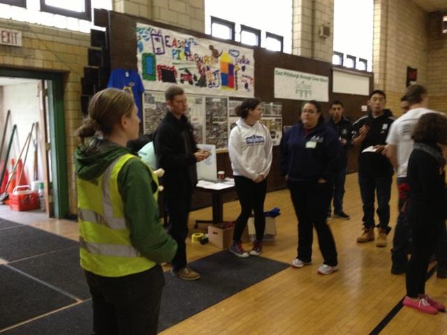 Volunteering at the CWF